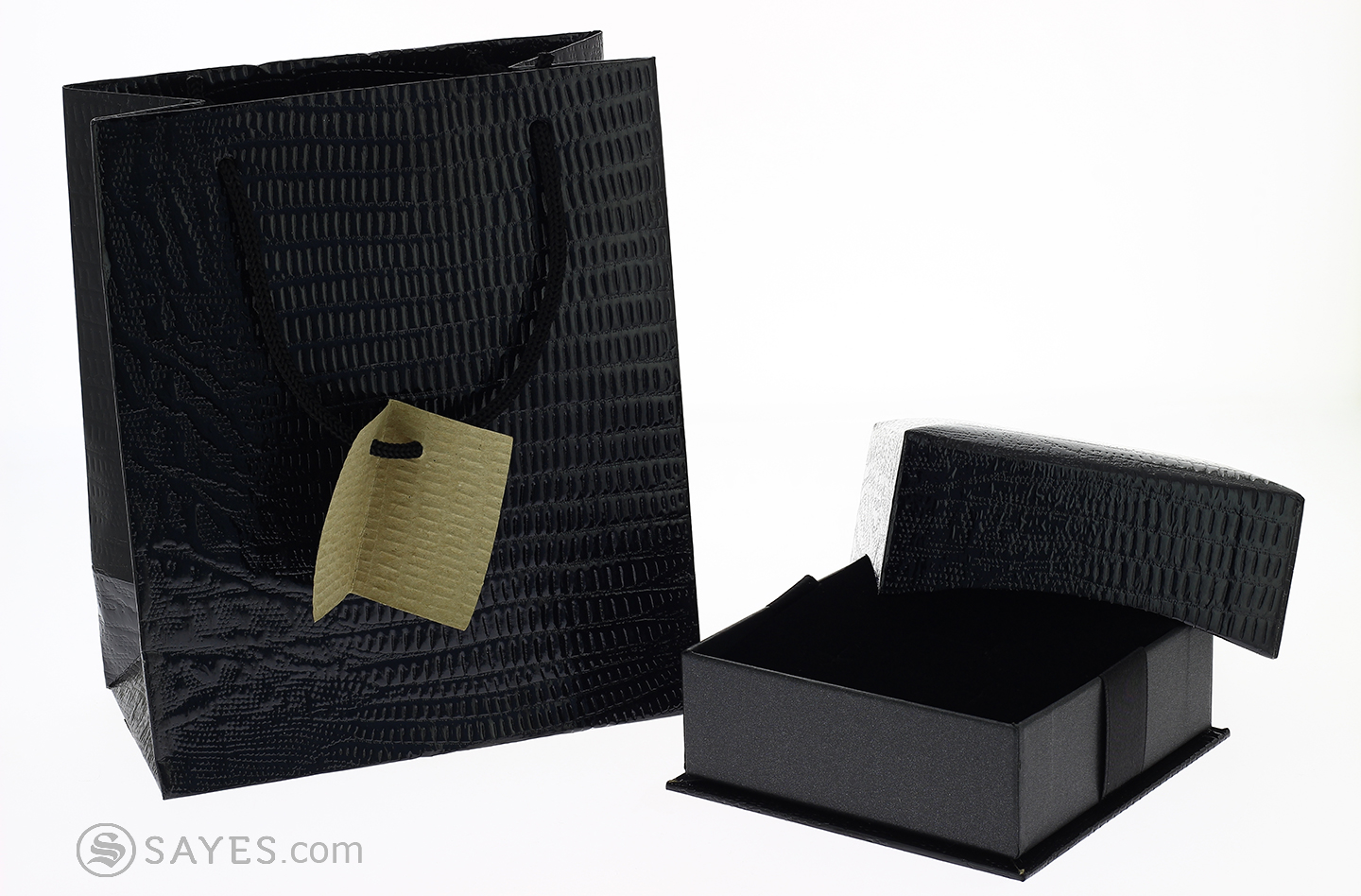 BLACK VERSIONS STANDARD BOX WITH SHOP BAG